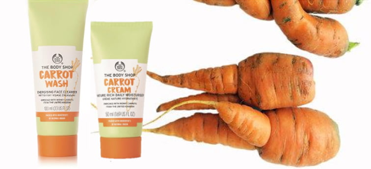 The Body Shop Wonky Vegs Carrots 3