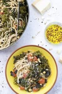 Tomato & Kale Pasta [vegetarian] by The Flexitarian
