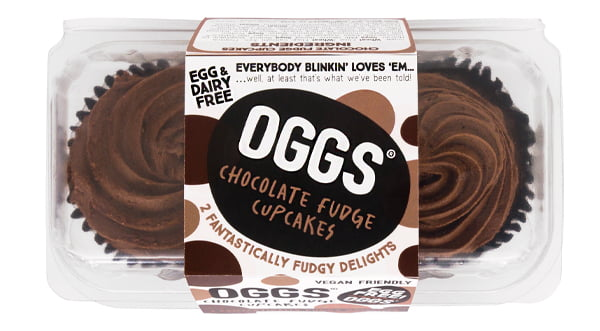 Oggs Vegan Fudge Cakes