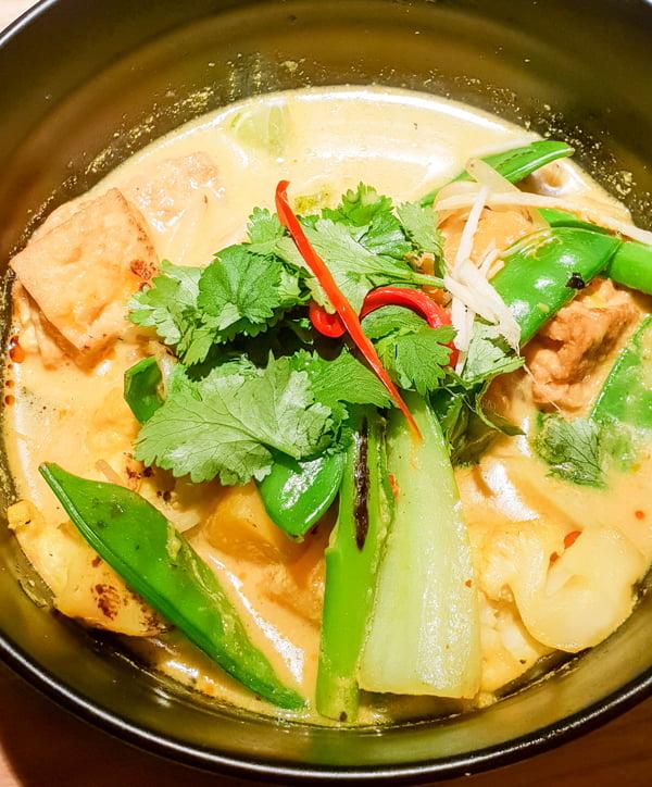 Wagamama new vegan Yasai Nikko curry v6