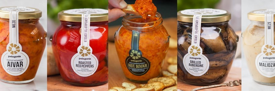 Win a Vegan Mezze Selection from Pelagonia