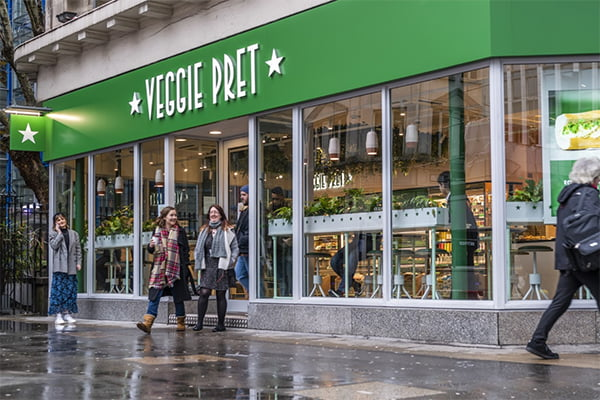 Veggie Pret March 2020