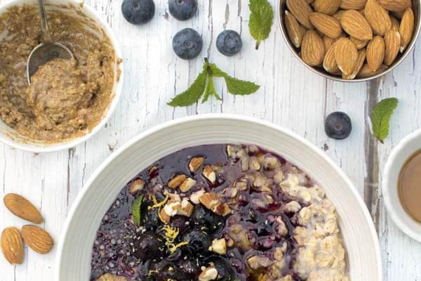 Blueberry Porridge [vegan]