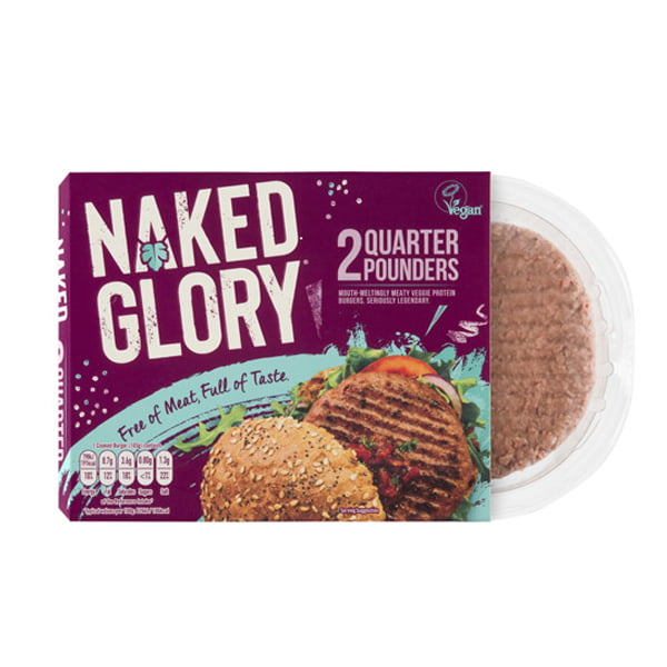 Naked Glory Vegan Burger
