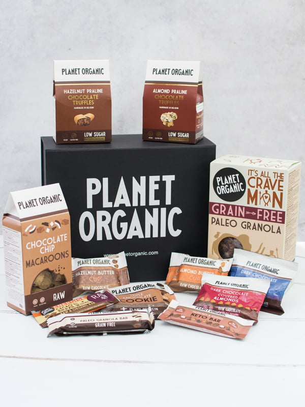 WIN This Planet Organic Vegan Chocolate Lover Hamper v8