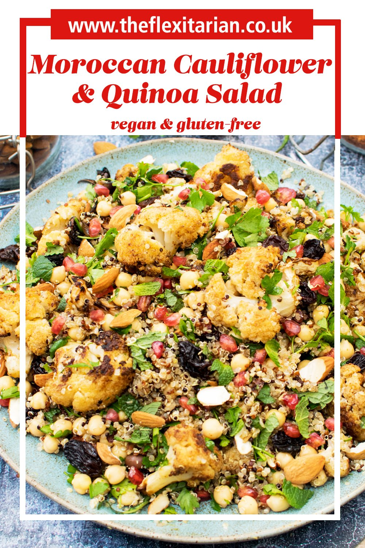 Moroccan Cauliflower & Quinoa Salad [vegan] [gluten free]