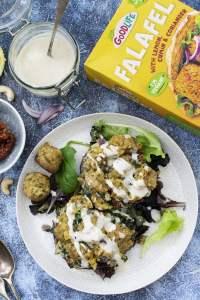 Stuffed Mushrooms with Falafel Crumble [vegan] by The Flexitarian