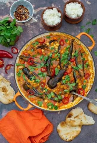 Aubergine Curry [vegan] by The Flexitarian