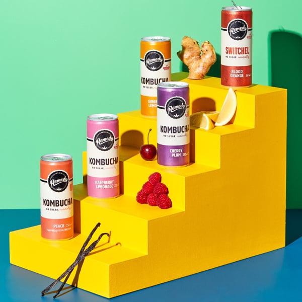 Remedy Peach Kombucha