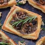 Mushroom Tarts [vegan] | The Flexitarian