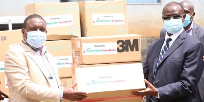 Safaricom Foundation Donates PPEs To Healthcare Workers In Meru, Kajiado And Baringo