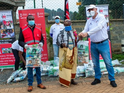 Majid Al Futtaim Donates Over KSH 5 million in Food Aid to Underprivileged Families across Nairobi
