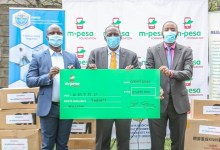 Photo of M-PESA Foundation Partners with KMPDU to distribute PPEs to 7 Counties