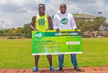 Odibets Supports Kenya's Fastest Man