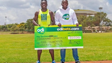Photo of Odibets Supports Kenya's Fastest Man