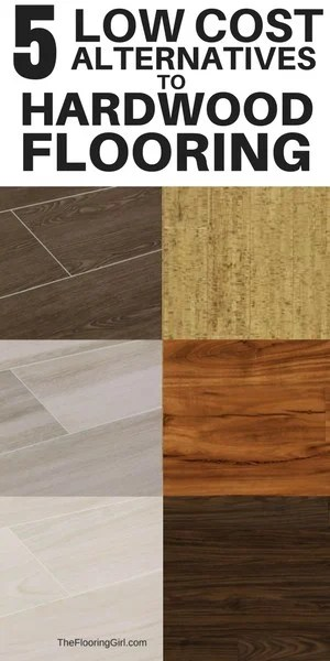 top 5 low cost alternatives to hardwood