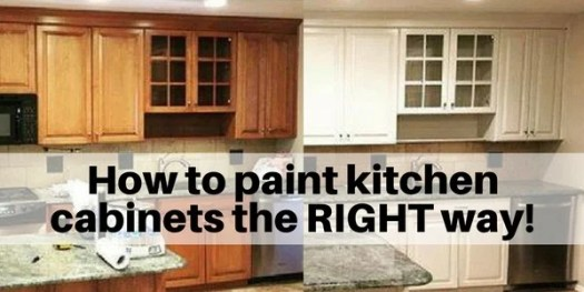 How To Paint Cabinets The Right Way Kitchen