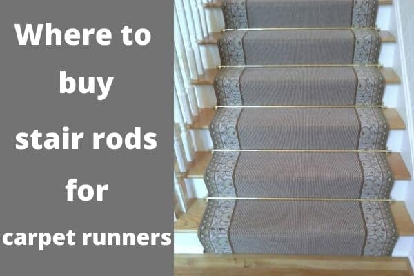 Where To Buy The Stair Rods For Carpet Runners The Flooring Girl   Rug Runners For Stairs   Narrow   Landing   Victorian   Traditional   Persian