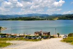 First view of Lago di Bilancino!