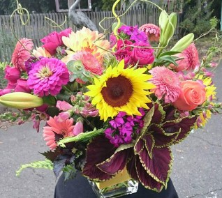 Sunflower Bouquet Charlotte NC delivery