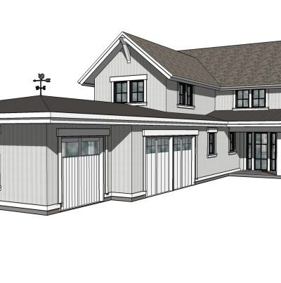 Drawing of our new home