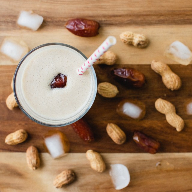 Healthy Protein Peanut Butter Coconut Smoothie