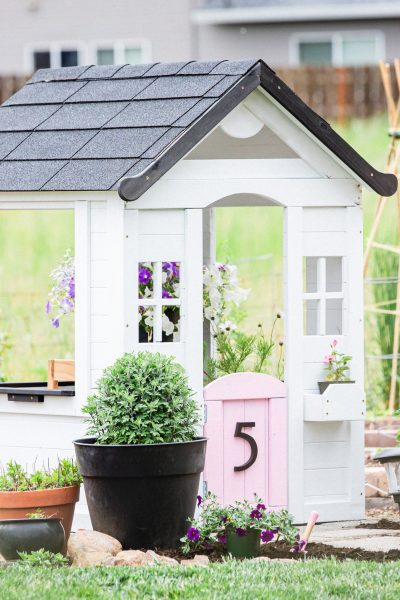 modern farmhouse playhouse