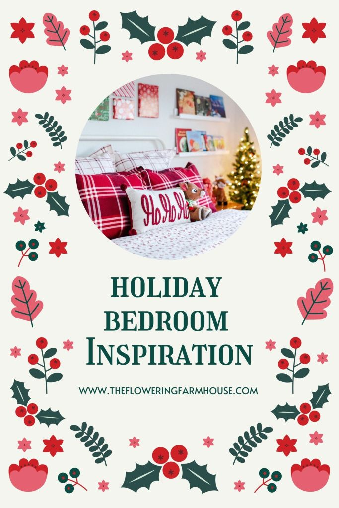 holiday bedroom inspiration