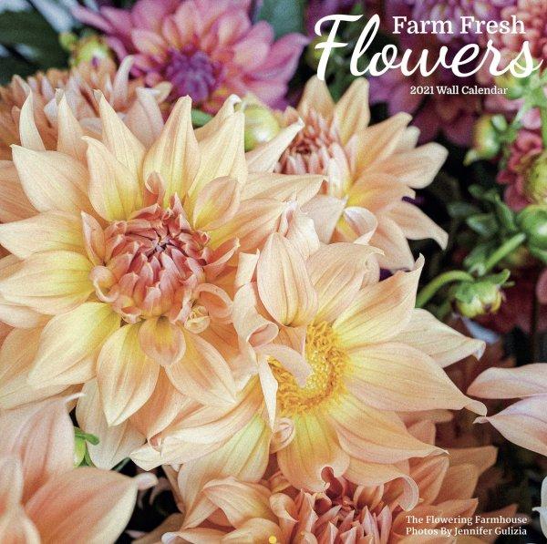 2021 Flower Calendar Cover