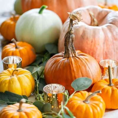 Simple DIY Thanksgiving Tablescape