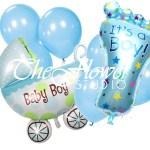 It S A Boy Balloon Bouquet The Flower Studio Pakistan