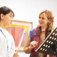 Master Classes and Lessons at the Gonjiam Festival.  by Barbara Siesel