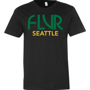 FLVR Seattle – Sonics – Short sleeve men's t-shirt