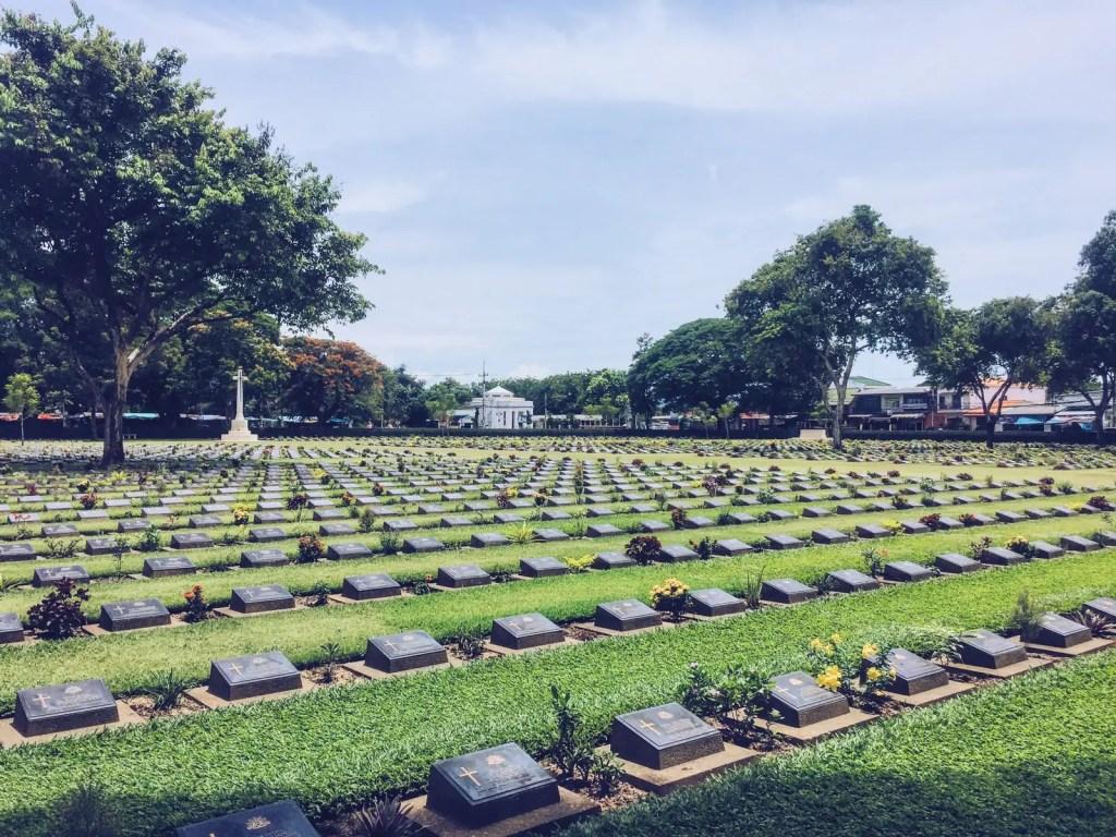 Kanchanaburi War Cemetery Commonwealth War Graves