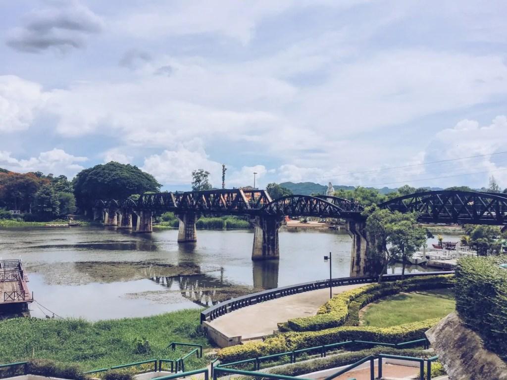 Kanchanaburi Bridge over the River Kwai Death Railway