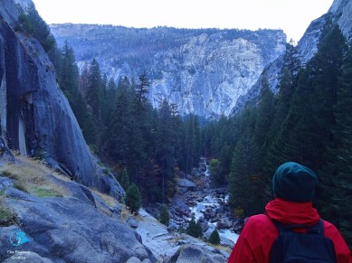 View from Vernal Fall