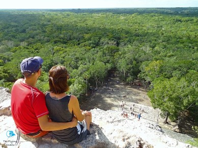 Looking ahead from Cobá