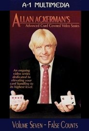 Allan Ackerman Card Control Volume 7 False Counts DVD