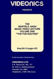 Martin A Nash Videonics Vol 1
