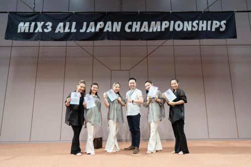 MIX3 ALL JAPAN CHAMPIONSHIPS@各務原市産業文化センター あすかホール