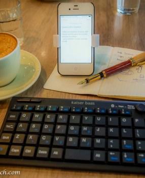Travel Tech Review: Kaiser Baas Bluetooth Mini Keyboard BT-100