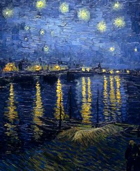 "Then and Now: Van Gogh's ""Starry Night over the Rhone"""