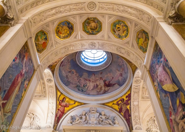 Paris Hotel de Ville ceiling