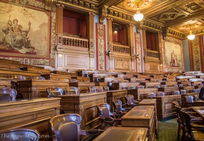 Paris Hotel de Ville - Council Chambers