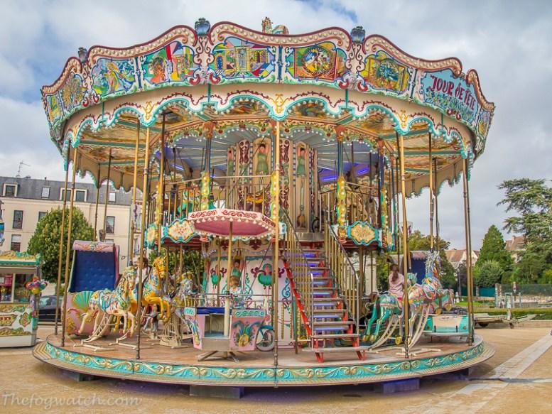 Carousel - Nantes, France