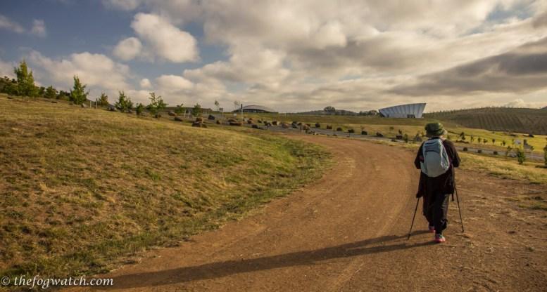 On a training walk