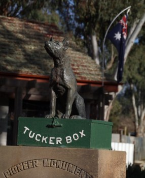 Day 1 – Canberra to Waikerie and a story about a dog…