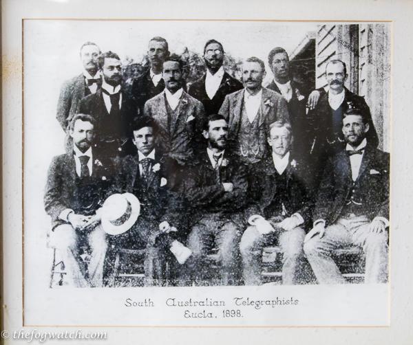 Early Eucla telegraphists