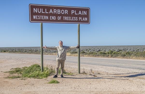 Nullarbor sign