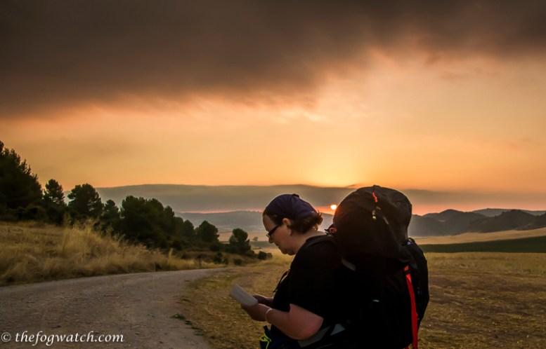 pilgrim sunrise